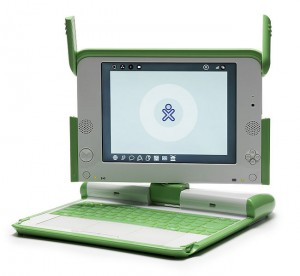 The XO laptop. Click to enlarge.